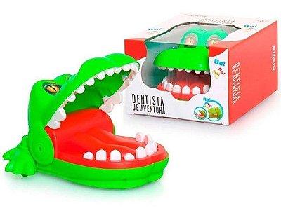Jogo Dentista De Aventura Radical Dino - Desafia Seus Amigos