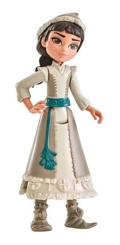 Mini Boneca Básica 10 Cm Disney Frozen 2 Honeymaren Magico