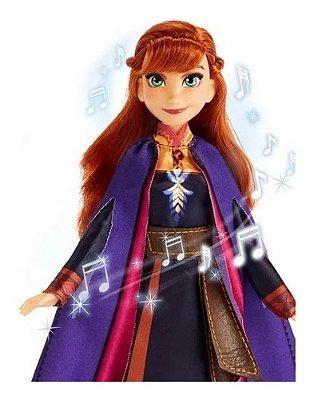 Boneca Anna Disney Frozen 2 - 30cm - Musical Edição 2021