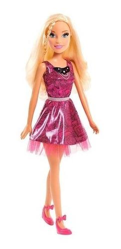 Boneca Barbie Best Fashion Friend Gigante 70 Cm De Altura