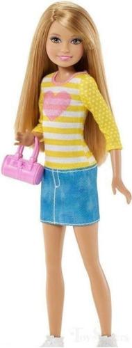 Boneca Barbie Stacie Dia De Passei Edição De 2014 Loira