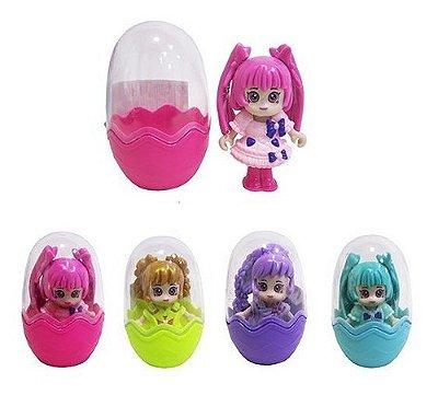 Boneca Girls Colorful Funny Na Capsula Estilo Anime Kawaii