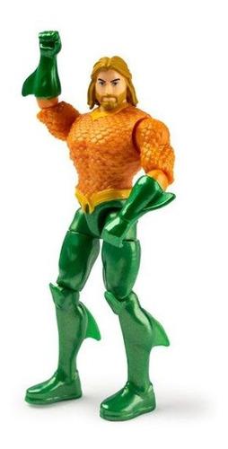 Boneco Aquaman Articulado Dc Comics 30 Cm - Liga Da Justiça