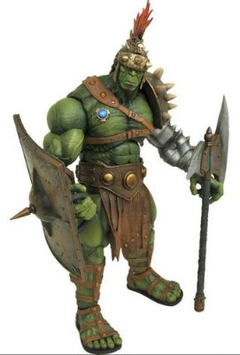 Boneco Figura Hulk Planet Hulk Marvel Select Edição De Luxo