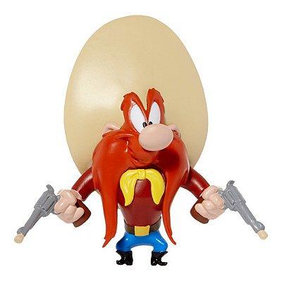 Boneco Figura Looney Tunnes Eufrazino Flexível De 10 Cm