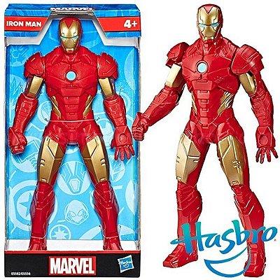 Boneco Homem De Ferro 25 Cm Action Figure Avengers Olympus