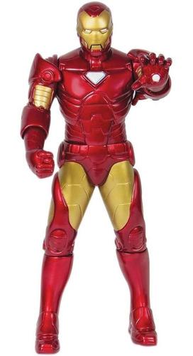 Boneco Homem de Ferro Gigante 45 Cm De Altura Articulado
