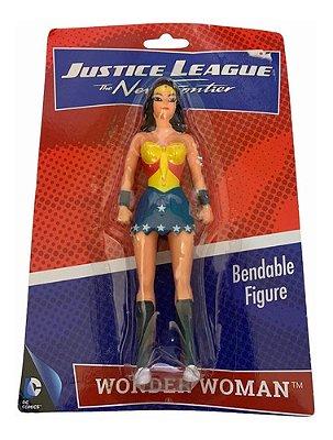 Boneco Mulher Maravilha De 15cm Liga Da Justiça Dc Comics