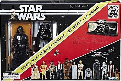 Boneco Star Wars Darth Vader Edição Comemorativa 40 Anos