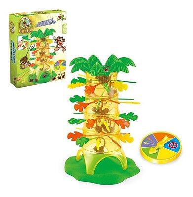 Brinquedo Jogo Do Macaco Não Deixe Cair Família Pula Macaco