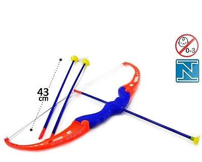 Briquedo Arco E Flecha 4 Peças Infantil Alti Toys Colorido