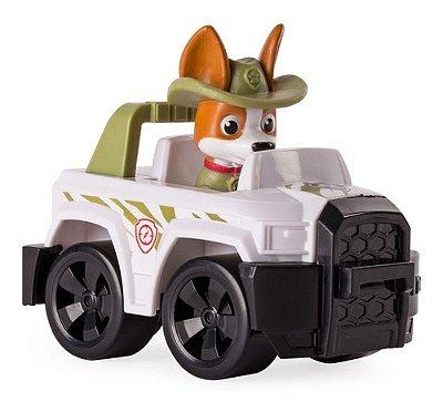 Carrinho Com Boneco Do Tracker Jungle Rescue Patrulha Canina