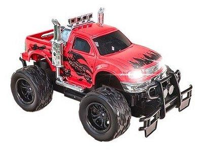 Carrinho De Controle Remto Picape 4x4 Trucks Radicais - Vermelho