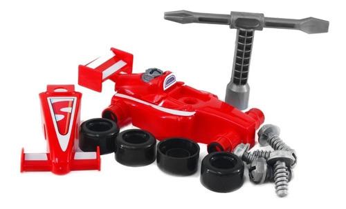 Carrinho Fórmula 1 F1 Pit Stop Monta Desmonta Senninha