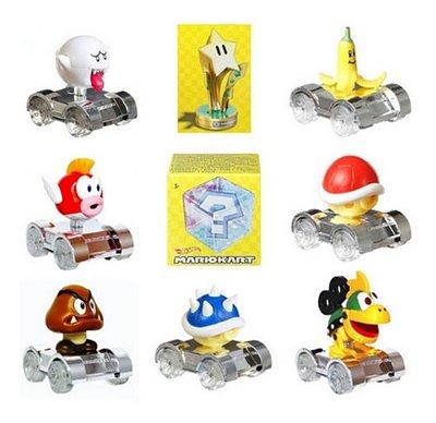Carrinhos Hot Wheels Mario Kart Caixa Surpresa Série 3