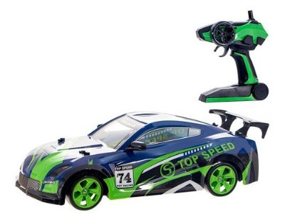 Carro De Controle Remoto 4x4 A Bateria Multi Direcional Drif - Verde