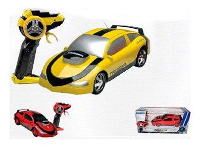 Carro De Controle Remoto Trigger 7 Funções Garagem As - Amarelo