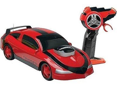Carro De Controle Remoto Trigger 7 Funções Garagem As - Vermelho