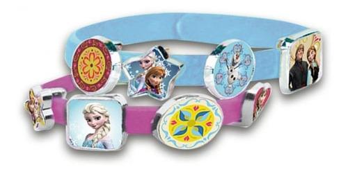 Conjunto De Pulseiras - Disney - Princesa Frozen Anna E Elsa