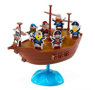 Jogo De Equilibra Barco Do Pirata Didático Raciocínio