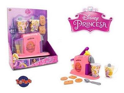 Kit Cafezinho Rapunzel Princesas Disney - Com Biscoitos