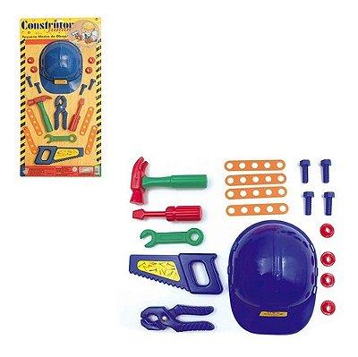 Kit Construtor Junior Com Capacete - E Varios Acesorios