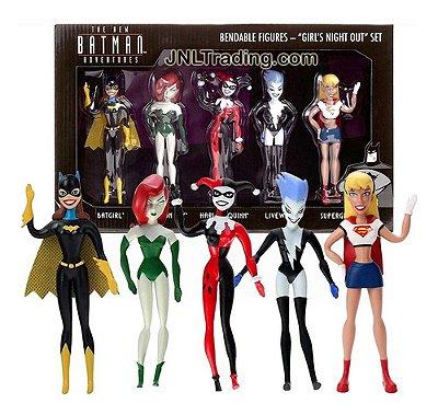 Kit Set 5 Bonecas Do Batman Edição Colecionador - Harley +