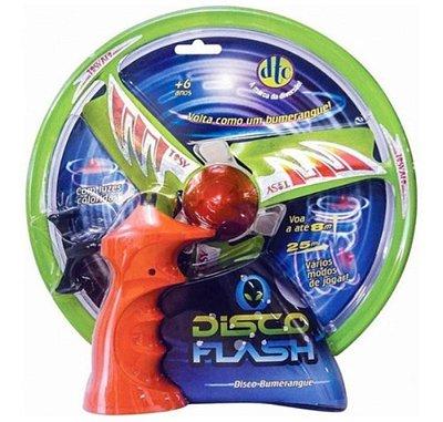 Lançador De Disco - Disco Flash Lançador Bumerangue Sortido
