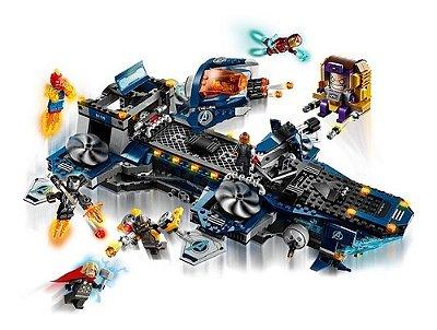 Lego Avengers Marvel Vingadores - Aeroporta Aviões 1244 Pçs