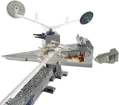 Pista Hot Wheels Star Wars Império Contra Ataca Edição Luxo