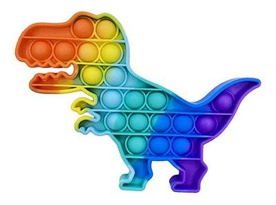 Pop It Fidget Toy Fidget Toy Pop Dinossauro Rainbow