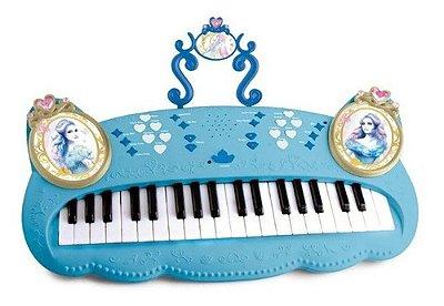 Teclado Piano Eletrônico Princesas Disney Cinderela De Luxo