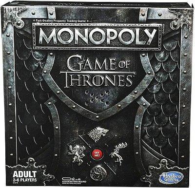 Jogo Monopoly Game Of Thrones Trono Muscial Edição Luxo