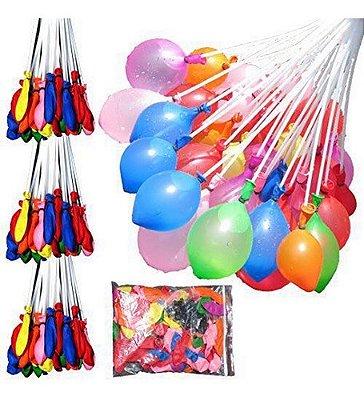 74 Bexigas Com Enchedor Balão De Água Enche Todas De Uma Vez