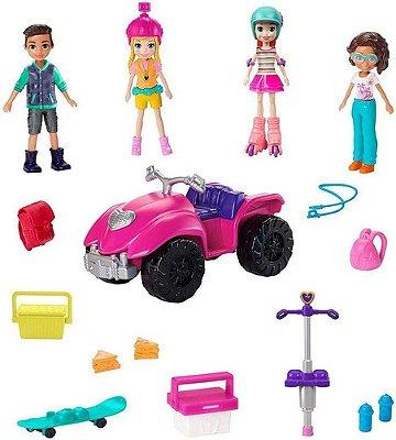 Boneca Polly Pocket - Pacote Diversão Com Amigos - Mattel