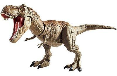 Boneco Jurassic World 2 Dino Rivalst-rex Gira 360 Grau 54cm
