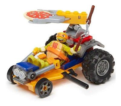 Mega Bloks Tartarugas Ninja - Carro Da Pizza Racer Mikey