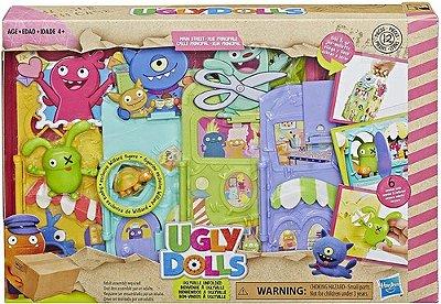 Bonecos Ugly Dolls Playset Cenario Lar + Figura+ Acessórios