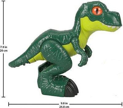 Boneco Dinossauro T-rex Xl 20 Cmjurassic World - Imaginext