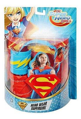 Kit Super Girl com Bracelete E Tiara
