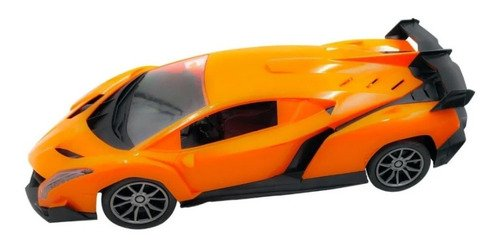Carrinho De Controle Remoto Lamborghini Laranja Aventador