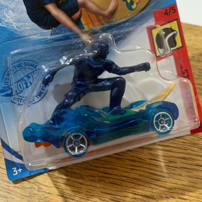 Carrinho Hot Wheels - 'surf's Up Carro / Prancha Edição 2021 - Azul