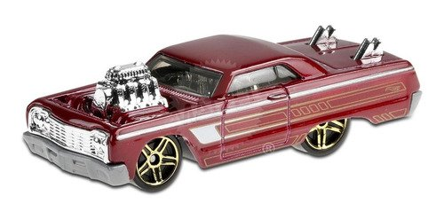 Carrinho Hot Wheels - '64 Chevy Impala - Ghf89 - Vermelho