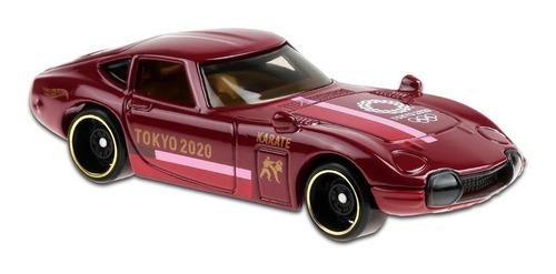Carrinho Hot Wheels -toyota 2000 Gt - Karate Tokyo 2020
