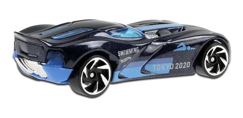 Carrinho Hot Wheels - Velocita - Natação Tokyo 2020 - Azul