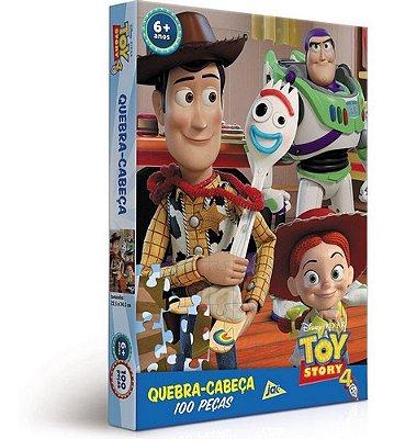 Quebra Cabeça Toy Story 4 -100 Peças Toyster