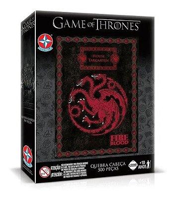 Quebra Cabeça Game Of Thrones Targaryen De 500 Peças