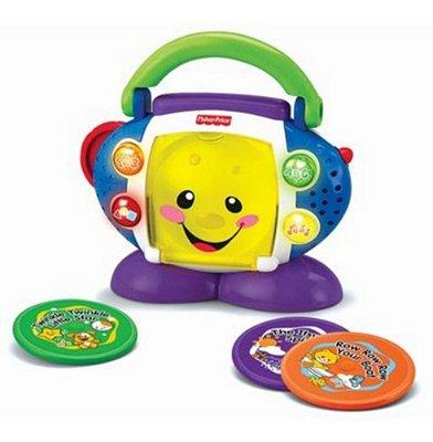 Fisher Price Cd Player Aprender E Brincar - Ensina Alfabeto