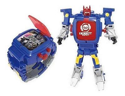 Robot Watch - Relógio Digital Robô (multikids) - Azul