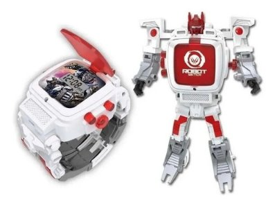 Robot Watch - Relógio Digital Robô (multikids) - Branco
